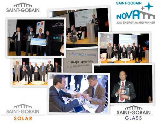 tvp solar nova energy award 2009 paris france. Black Bedroom Furniture Sets. Home Design Ideas